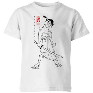 Samurai Jack Kanji Kids' T-Shirt - White