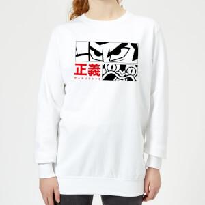 Samurai Jack Arch Nemesis Women's Sweatshirt - White