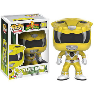 Funko Pop! Vinyl Power Rangers Yellow Ranger Figure