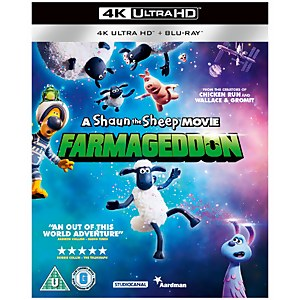 A Shaun The Sheep Movie: Farmageddon - 4K Ultra HD (Includes Blu-ray)