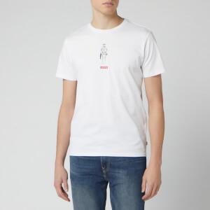 Levi's X Star Wars Men's Graphic Short Sleeve T-Shirt - Storm White
