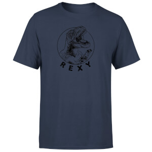 How Ridiculous Rexy Men's T-Shirt - Navy