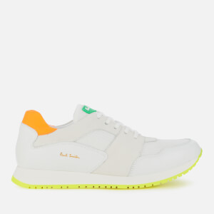 Paul Smith Men's Pioneer Running Style Trainers - White