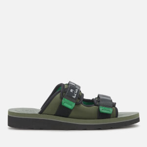 PS Paul Smith Men's Micah Double Strap Sandals - Khaki