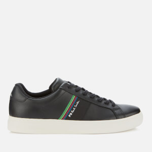 PS Paul Smith Men's Rex Leather Low Top Trainers - Black