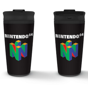 Nintendo (N64) Metal Travel Mug