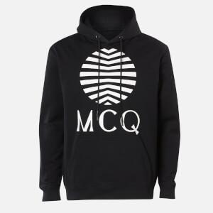 McQ Alexander McQueen Men's Logo Hoody - Darkest Black