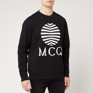 McQ Alexander McQueen Men's Logo Sweatshirt - Darkest Black