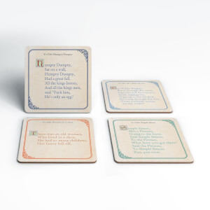 Rude Fairy Tales Coaster Set