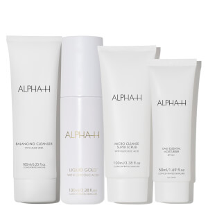 Alpha-H Cleanse, Exfoliate, Resurface and Hydrate (Worth $200.80)
