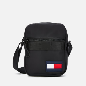 Tommy Hilfiger Men's Mini Reporter Bag - Black