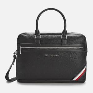 Tommy Hilfiger Men's Downtown Computer Bag - Black