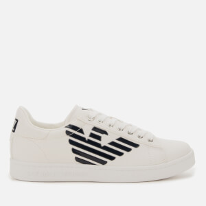 Emporio Armani EA7 Men's Court Trainers - White