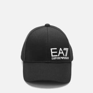 Emporio Armani EA7 Men's Logo Cap - Black