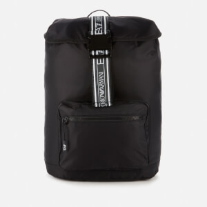 Emporio Armani EA7 Men's Taping Backpack - Black