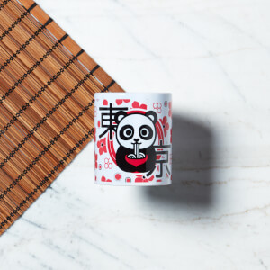 Ramen Panda Floral Mug