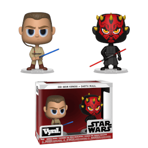 Funko Star Wars Darth Maul & Obi-Wan Kenobi VYNL.