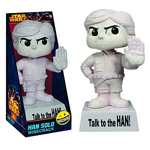Funko Wisecracks Star Wars Han Solo 'Speak to the Han' Bobblehead
