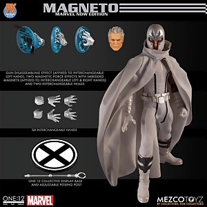 Mezco One:12 Collective Marvel X-Men Magneto Marvel NOW! Edition Figure - Previews Exclusive