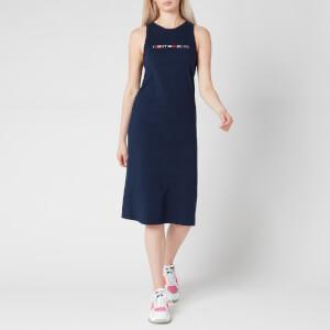 Tommy Jeans Women's TJW Logo Tank Dress - Twilight Navy