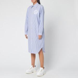Vivienne Westwood Women's Shirt Dress - Blue/White