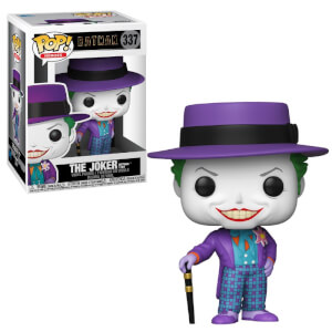 DC Comics Batman 1989 Joker with Hat Funko Pop! Figuur