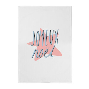 Joyeux Noel Cotton Tea Towel