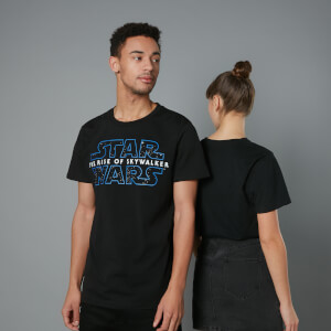 The Rise of Skywalker - T-shirt Logo - Noir - Unisexe