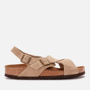 Birkenstock Women's Tulum Sfb Suede Cross Front Sandals - Taupe