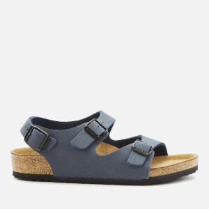 Birkenstock Kids' Roma Nubuck Sandals - Navy