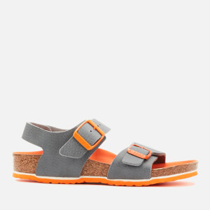 Birkenstock Kids' New York Double Strap Sandals - Desert Soil Vibrant Grey