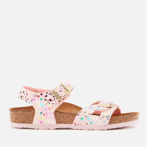Birkenstock Kids' Rio Sandals - Confetti Rose