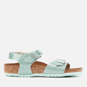 Birkenstock Kids' Rio Plain Sandals - Cosmic Sparkle Mineral