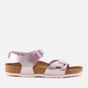Birkenstock Kids' Rio Sandals - Electric Metallic Lilac