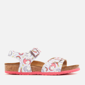 Birkenstock Kids' Rio Plain Sandals - Unicorn Pink