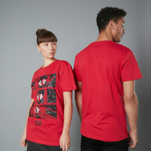 Camiseta The Rise of Skywalker TIE Fighter - Unisex - Rojo