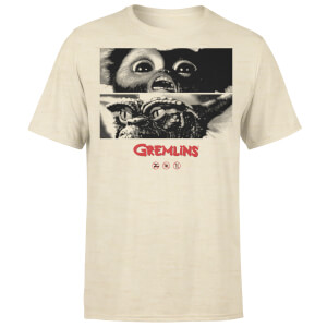 Gremlins Panels Men's T-Shirt - Natural Stone Wash