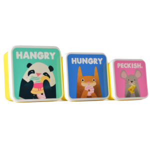 Jolly Awesome Set of 3 Lunch Boxes