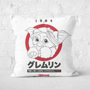 Gremlins Gizmo Japanese Square Cushion