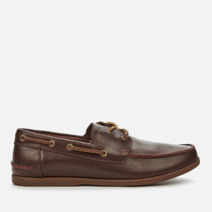 Clarks Men's Pickwell Sail Leather Boat Shoes - British Tan