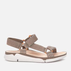 Clarks Women's Tri Sporty Sandals - Sage Snake