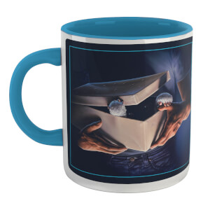 Tazza Gremlins Poster /Blue - Bianco