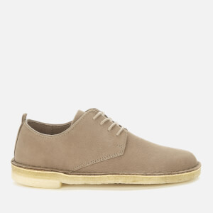 Clarks Originals Women's Desert London Suede Derby Shoes - Mushroom