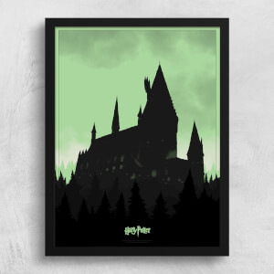 Harry Potter Dark Arts Limited Edition Glow In The Dark Screenprint