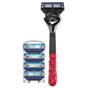 Gillette Limited Edition Razor Maker - Coral + 5 Stück