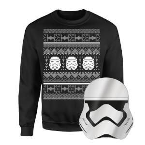 Star Wars Christmas Jumper And Mirror Bundle