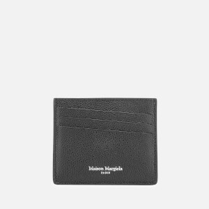 Maison Margiela Men's Leather Cardholder - Black