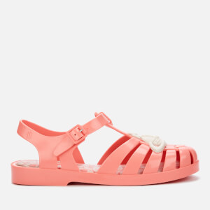 Vivienne Westwood for Melissa Women's Possession Contrast Orb Sandals - Coral