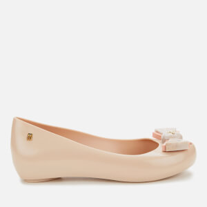 Vivienne Westwood for Melissa Women's Ultragirl Bow Orb Ballet Flats - Nude Contrast