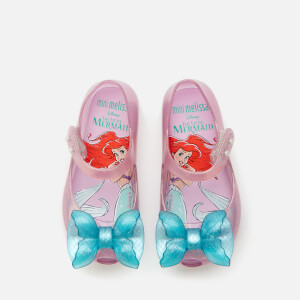 Mini Melissa Toddlers' Disney The Little Mermaid Ultragirl Flats - Purple/Aqua